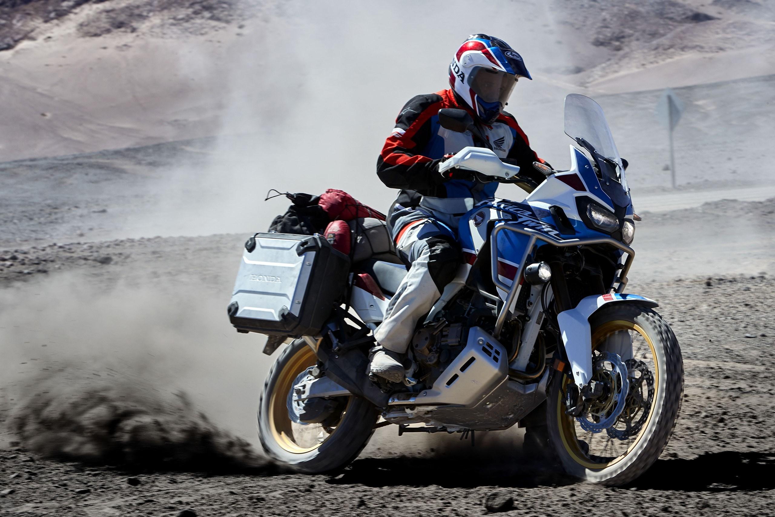 Throttle by Wire ist ab 2018 für die Africa Twin Adventure Sports von Honda erhältlich.