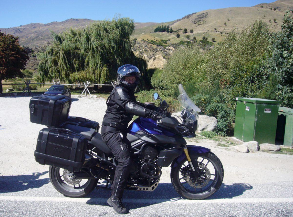 Motorradtouren Neuseeland Cadrona bis Crown Range