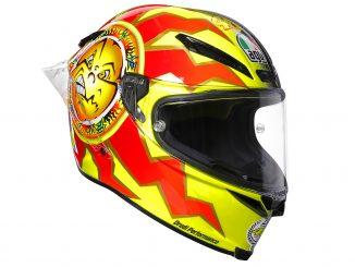 Der Dainese Helm AGV Pista GP R im Design der Limited Edition.
