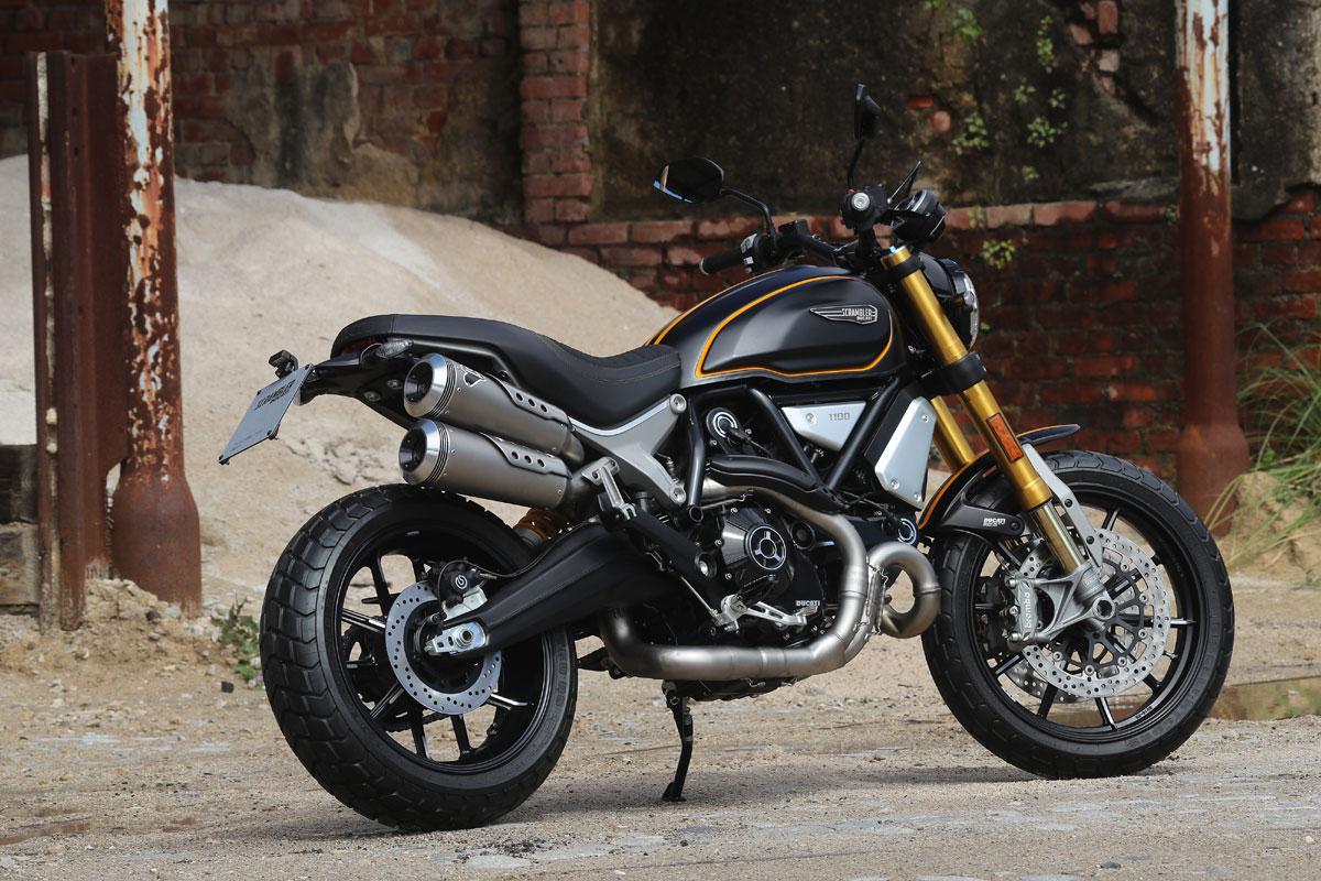 Ducati-Scrambler 1100-Dimensionierung