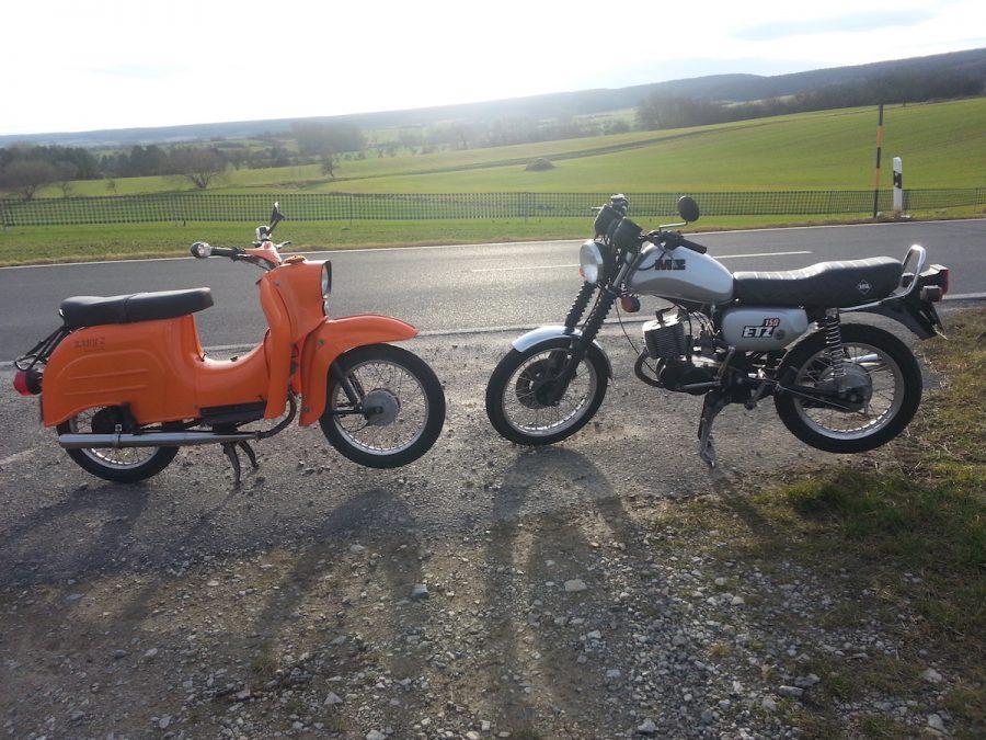 Schwalbe und ETZ 150