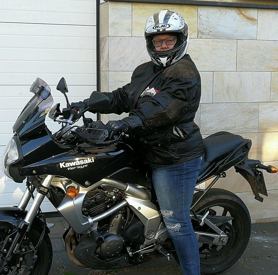 Kawasaki Versys Ela SHE-is-a-RIDER