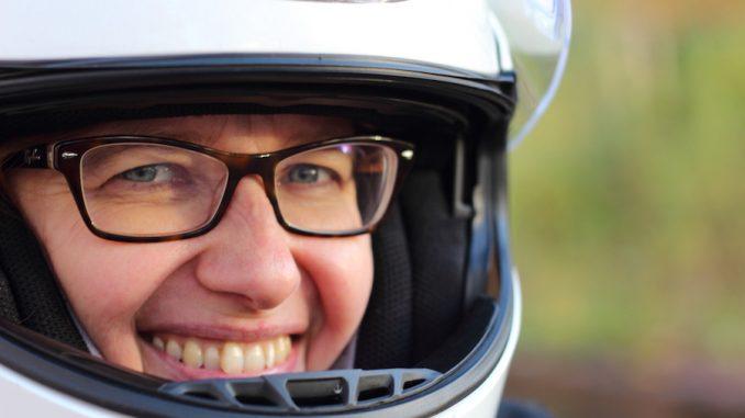 Sabine Suzuki SV650 She is a Rider