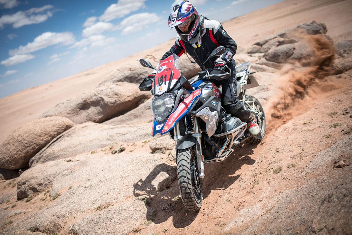 durch sand fahren-GS Trophy-Mongolei-BMW