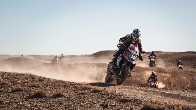 Durch Sand fahren-BMW-GS Trophy-Mongolei