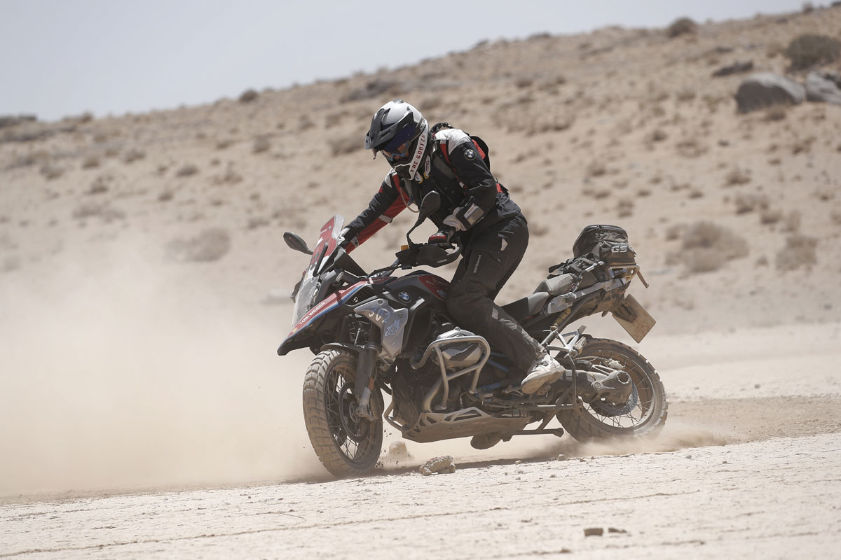 driften-GS Trophy-Sand-Wüste-Gobi-Mongolei