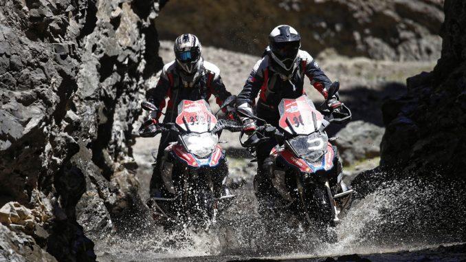 Wüste Gobi-Canyon-GS Trophy-BMW Motorrad-Mongolei