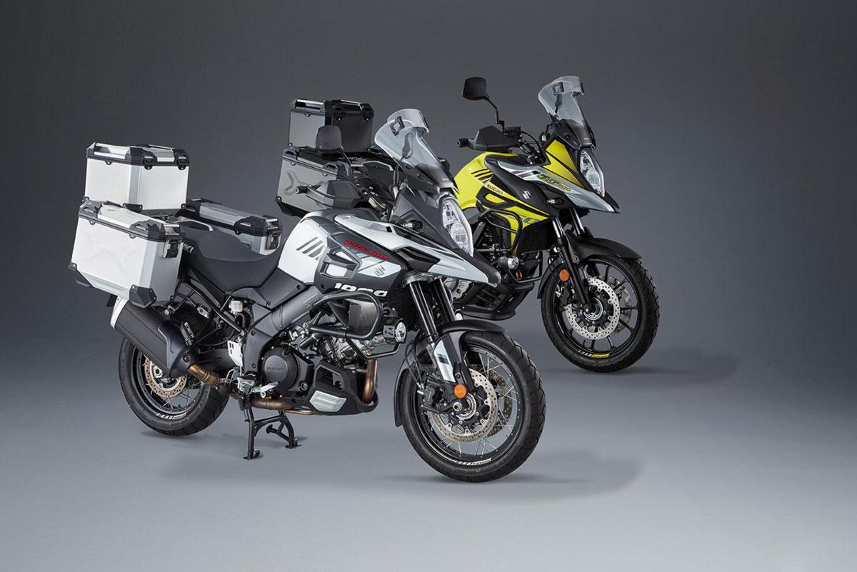Alu-Koffersysteme-Suzuki-V-Strom 1000 XT-Suzuki-V-Strom 650 XT