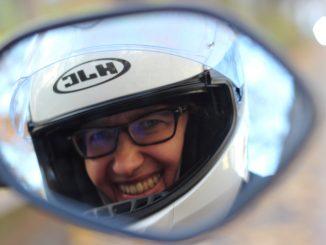 Gleichgewicht-Spiegelblick-Motorrad-Kolumne-Sabine Osmanovic