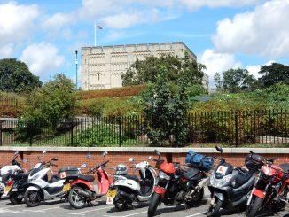 Motorradtour-England-Schottland-Norwich Castle