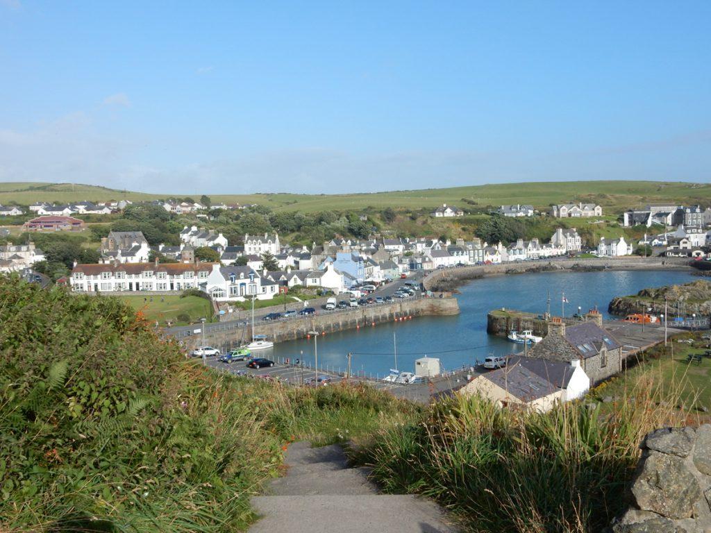 England-Portpatrick-Dorf am Meer