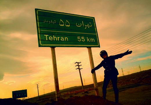 Lois Price hat es geschafft. Auf dem Motorrad bis nach Teheran.