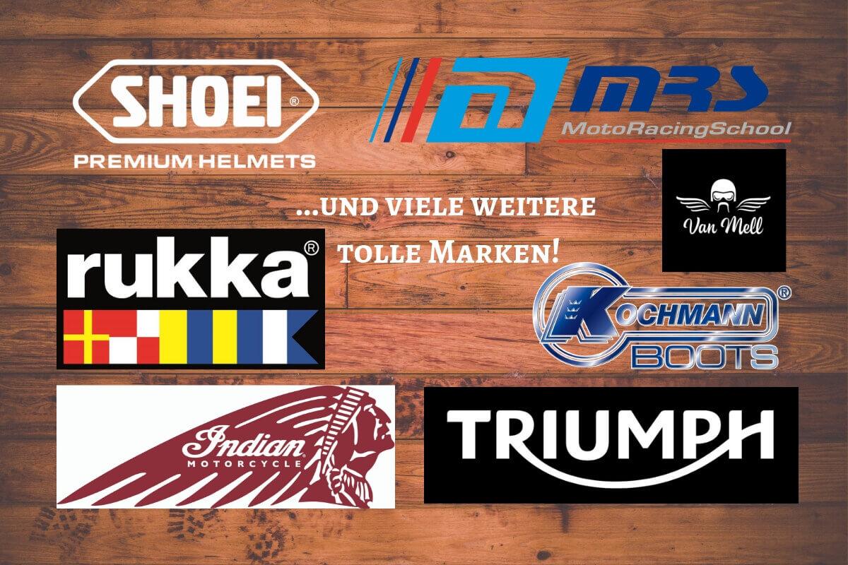 Der Adventskalender für Motorradfahrer. 24 Geschenke rund ums Motorrad. Mit Gewinnen für die nächste Motorradsaison in deinem Motorradmagazin für Frauen.