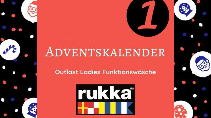 Adventskalender für Motorradfahrer. Gewinne Outlast Ladies Funktionswäsche von Rukka. Noch mehr Geschenke für Motorrad-Fans bis Weihnachten gibt es hier.