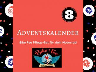 Heute kannst du im Adventskalender ein komplettes Bike Fee Pflege-Set für Dein Motorrad gewinnen. Die Ausstattung für beste Pflege für die neue Saison.