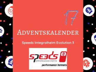 Gewinne einen Speeds Integralhelm Evolution 3 im SHE is a RIDER Adventskalender. Der Integralhelm von Speeds bietet eine hervorragende Aerodynamik.