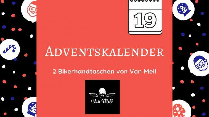 Gewinne eine Van Mell Bikerhandtasche für perfekte Motorrad- & Ausrüstungspflege in unserem Adentskalender. Nachhaltige & kraftvolle Pflege für dein Bike.