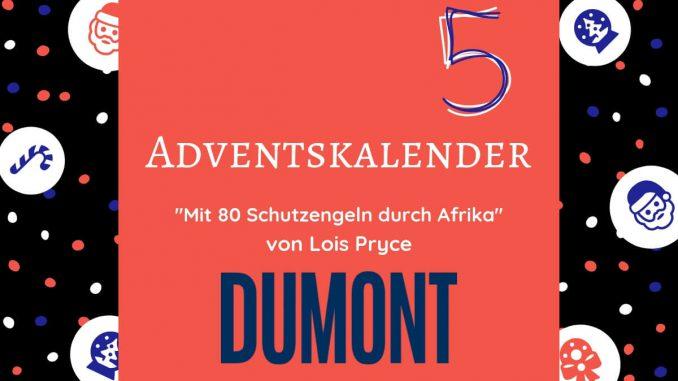 """Gewinne das Buch """"Mit 80 Schutzengeln durch Afrika"""" von Lois Pryce aus dem DuMont Reise Verlag. Vier Exemplare ihres Abenteuer-Romans warten auf dich."""