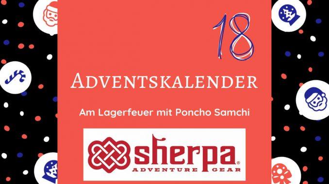 Wenn auf dem Bike durch die Weiten Zentralasiens fährst & abends am Lagerfeuer die Sterne beobachtest, dann ist der Sherpa Poncho aus Lammwolle perfekt.
