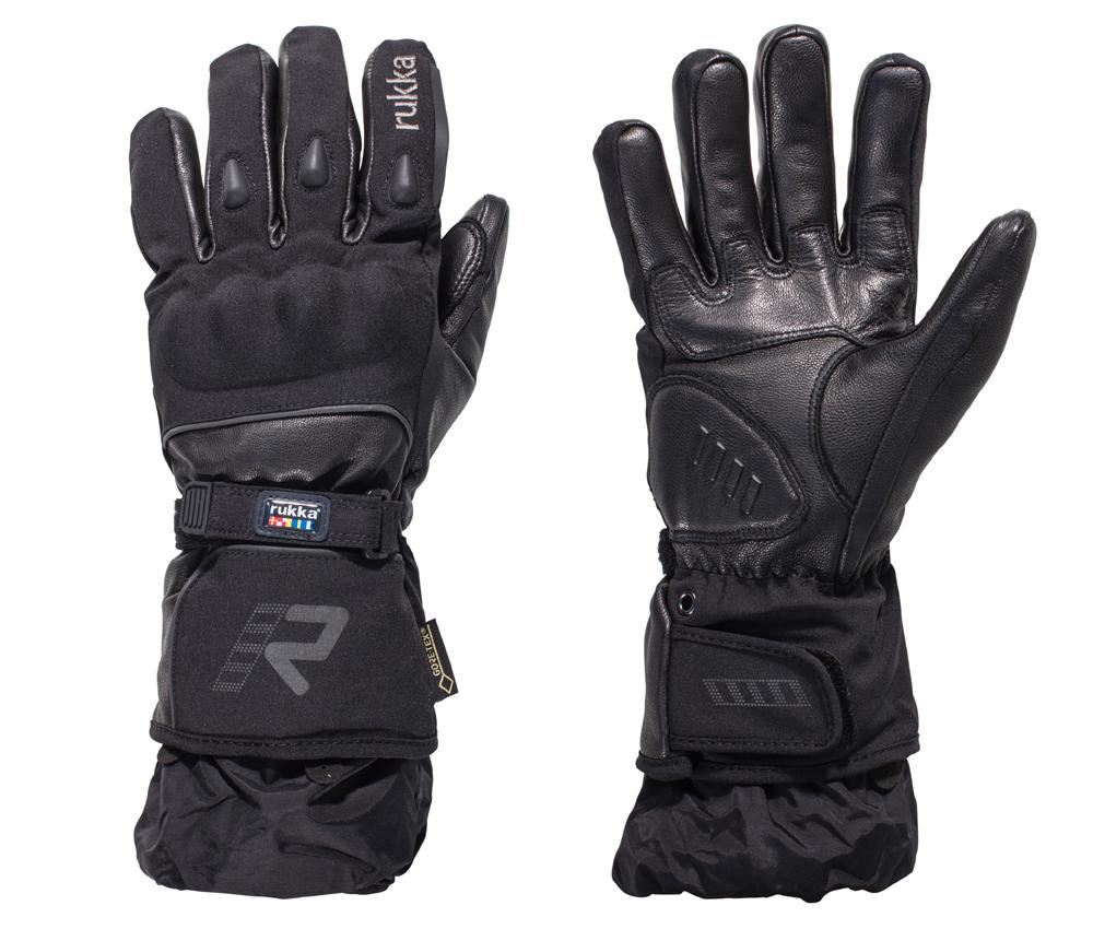 rukka-Motorrad-Handschuh-Frosto-Leder-Textil-Mix-Gore-Tex