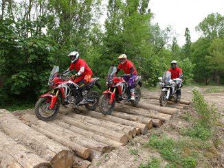 Sicherheitstrainings-Honda-Gelände-Rennstrecke