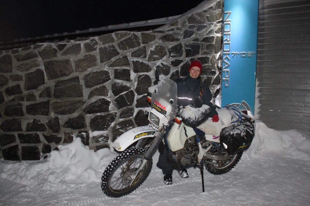 Silke-Suzuki-Nordkapp-Schnee