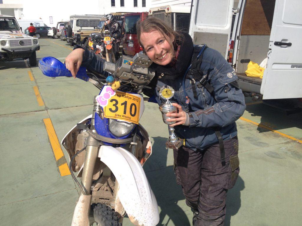 Silke-Motorrad-Ralley-Yamahe-Pokal