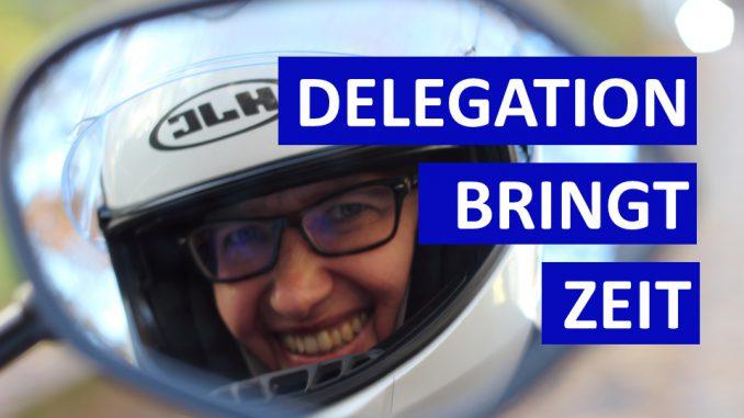 Sabines Motorrad-Kolumne heute - Delegation bringt Dir mehr Zeit