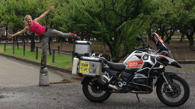 Urban Camping mit Stephanie Rowe in Japan
