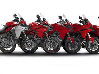 Multistrada Entwicklung der Ducati-Motorräder über die Jahre