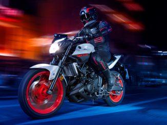 Das Yamaha MT03 Naked-Bike bietet viel Fahrspaß mit dem A2-Führerschein