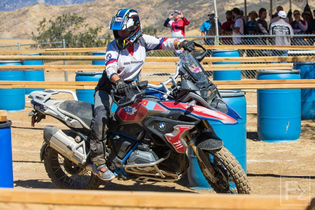 Jocelin Snow GS Trophy Qualifier 2018 auf BMW 1200 GS