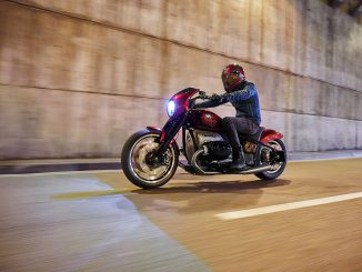BMW Motorrad Concept R 18-2 im Tunnel
