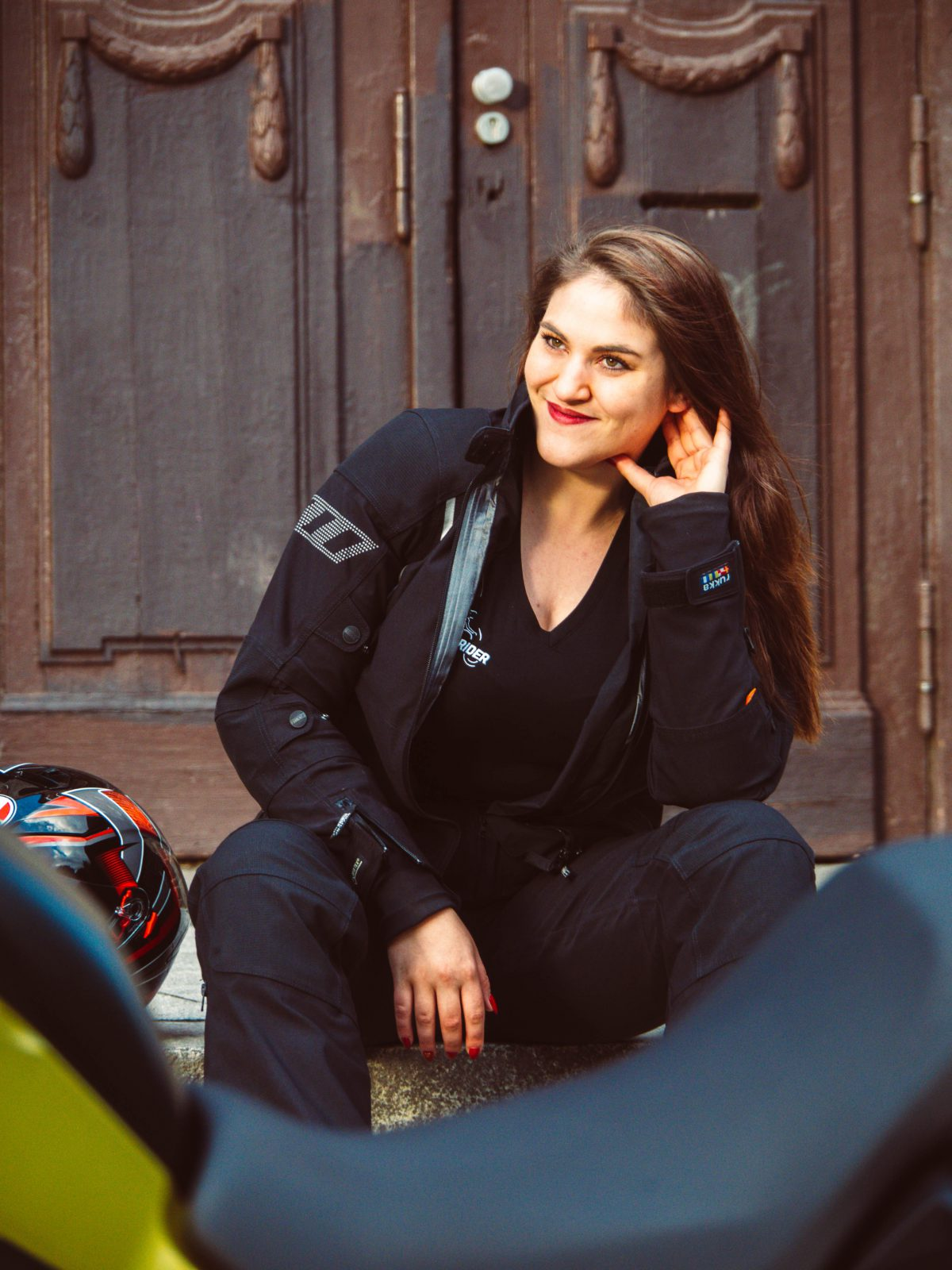 Motorradkombi Damen. Motorrad-Schutzkleidung mit allem Komfort für Frauen.