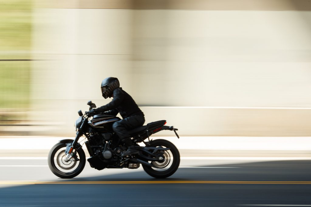 Harley Davidson Naked Bike Streetfighter Bronx auf der EICMA 2019