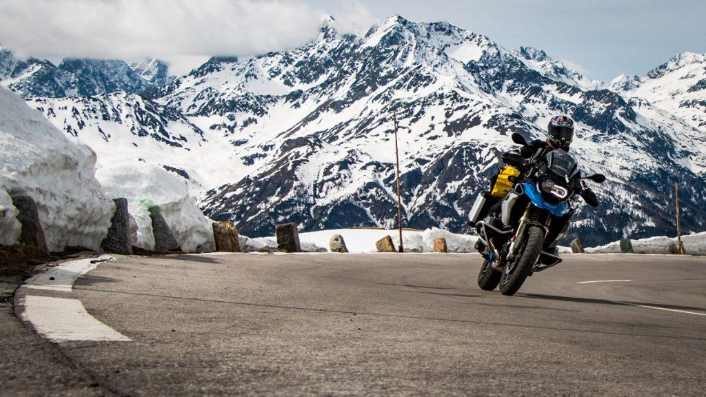 Unterwegs mit Motorrad BMW R1200 GS Rallye