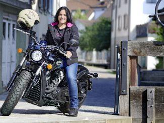 Mit der Kevlar Jeans Clarkson von iXS sicher auf dem Motorrad unterwegs