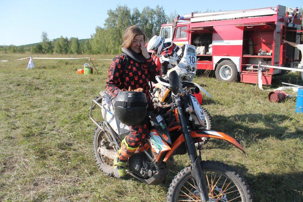 Rallye fahren mit KTM Motorrad