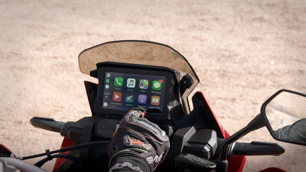 TFT-Farb-Display mit Touchscreen und mit Handschuhen zu bedienen