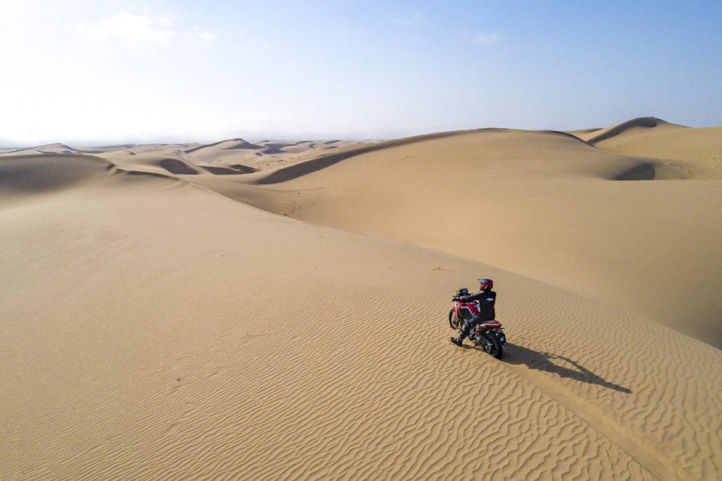 Mit der Afrika Twin durch die Wüste bis ans Ende der Welt