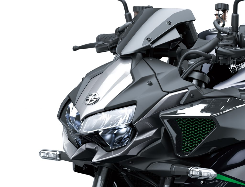 Kawasaki Z H2 Frontpartie