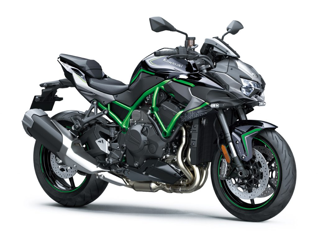 Kawasaki Z H2 ab 2020 in ganzer Schönheit