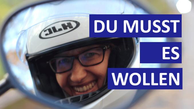 Gute Vorsätze - Das Erfolgsrezept aus Sabines Motorradkolumne