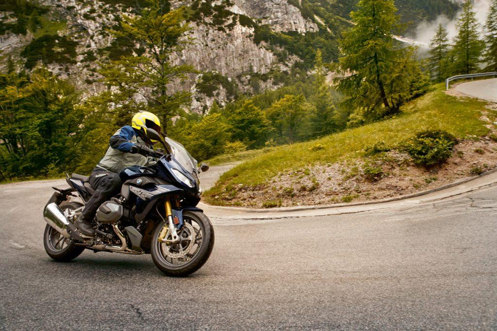 Der BMW Boxermotor liefert mehr Kraft und Laufruhe.