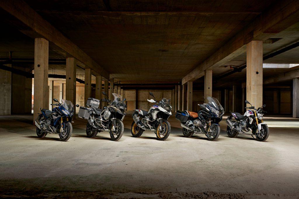 BMW Motorräder mit LED-Scheinwerfer