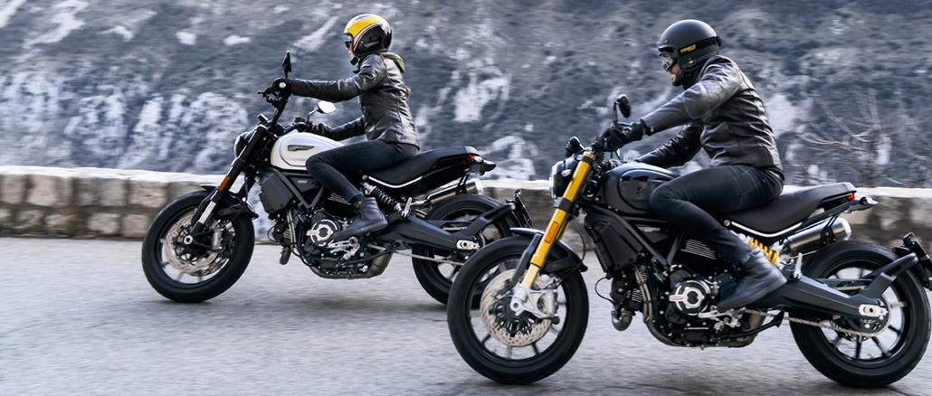 Ducati Scrambler 1100 PRO und Sport PRO