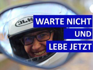 Sabines Motorradkolumne auf SHE is a RIDER de