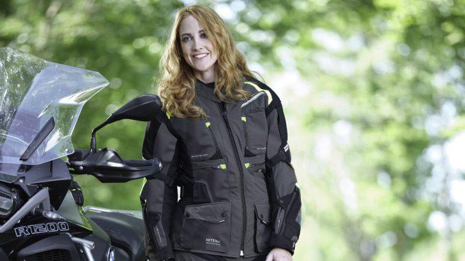 Buese Motorradkombi Porto für Damen als Fünfteiler gegen alle Wetter