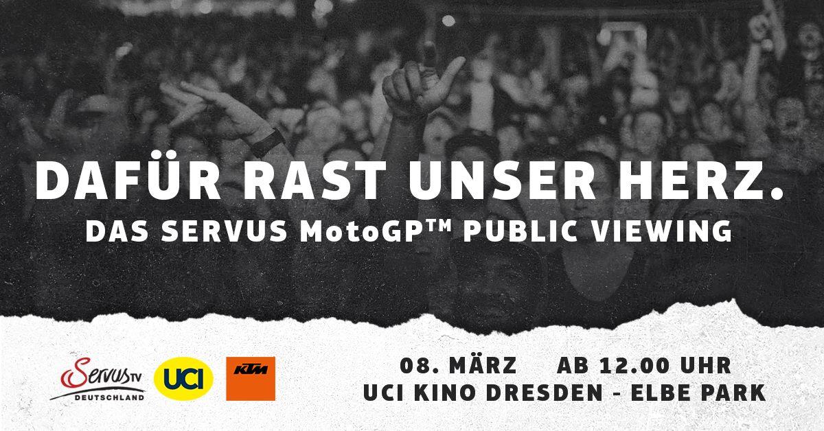 KTM Moto GP Public Viewing in Dresden