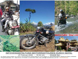 Motorradtour durch Nepal Info-Abend